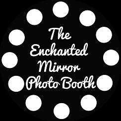 White Enchanted Mirror PhotoBooth Logo.p