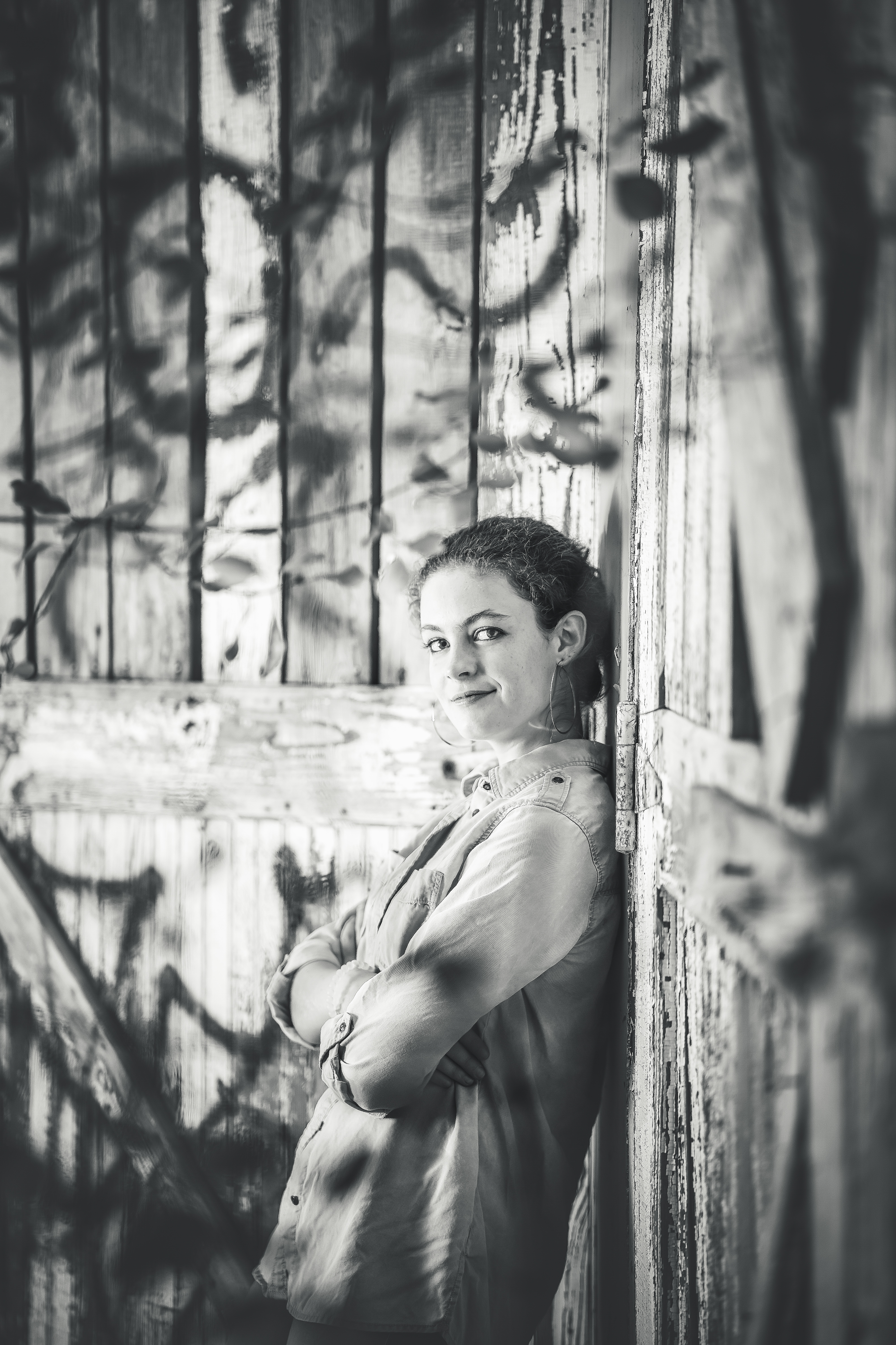 Black & White Senior Photos