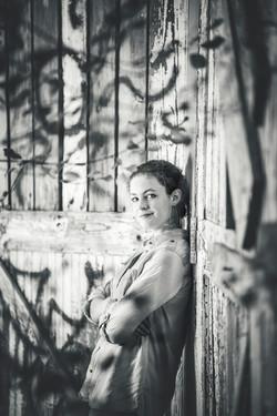 Black & White Senior Photos