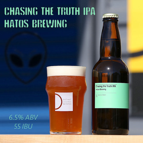 Chasing The Truth IPA - 330ml x 6 (Hatos Brewing)