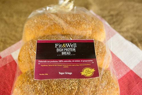 High Protein Bread (Yogur Griego)