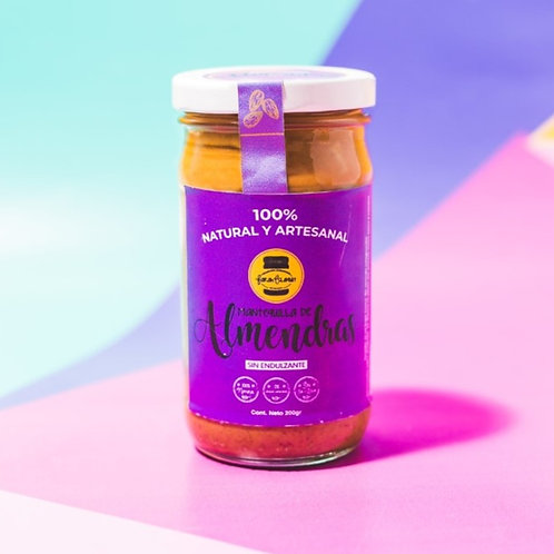 Mantequilla de Almendras sin Endulzante