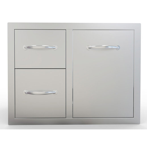 Sunstone Double Drawer & Tank or Trash Ray Combo (A-LPCDD30)