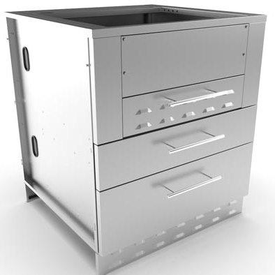 Sunstone Cabinet for Kamado/Grill (SAC-30KBDC)