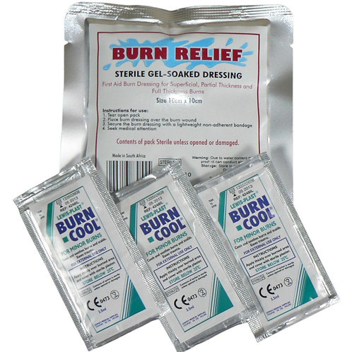 Burn Relief Add on Pack