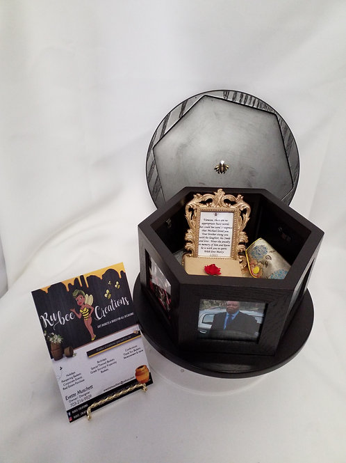 Bee Hive Bereavement Keepsake Box (sample)