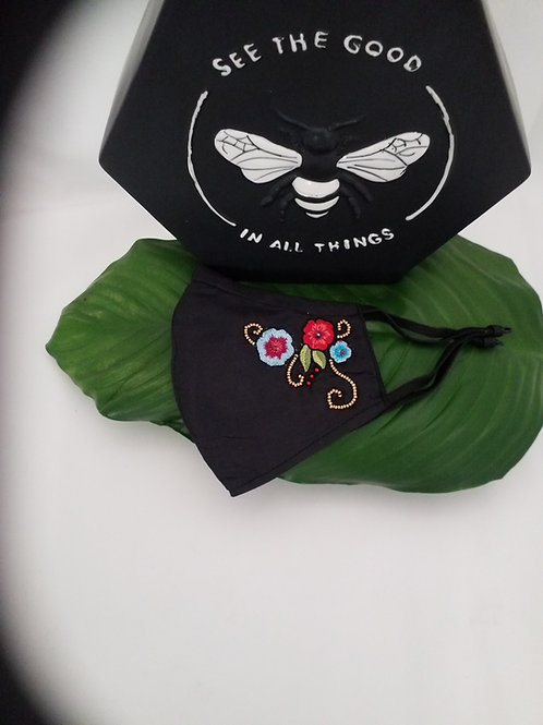 Mary Frances Mask (Peace Mask) shipping is included in cost.