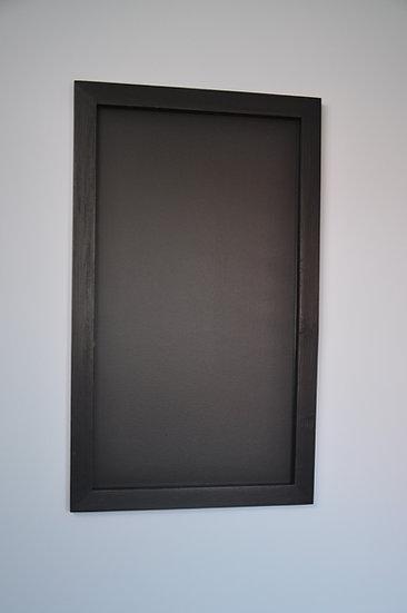 Tablica kredowa prosta - czarna