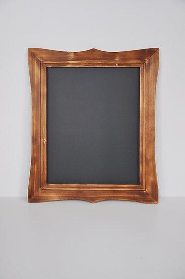 Tablica magnetyczno-kredowa stylizowana -palony orzeca