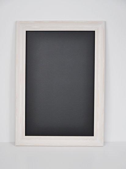 Tablica magnetyczno-kredowa bejca biała-wzór 6