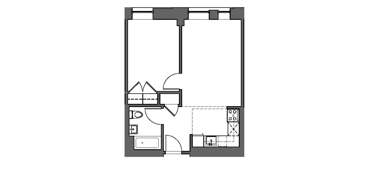 One Bedroom, Typical