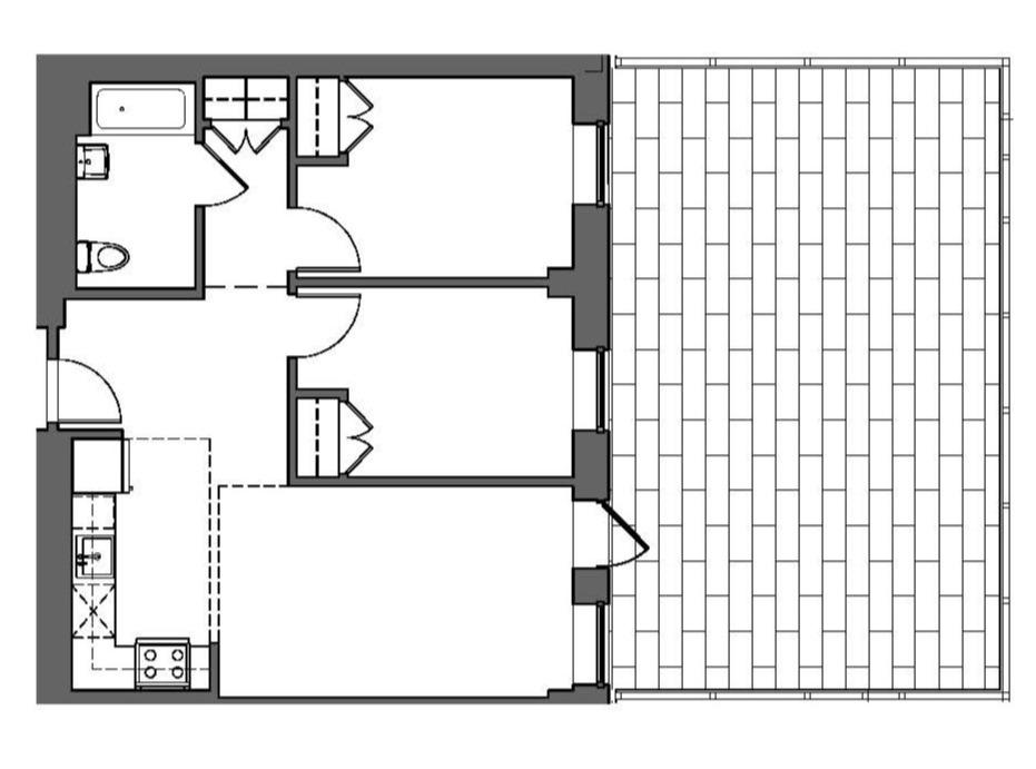 Two Bedroom + Terrace
