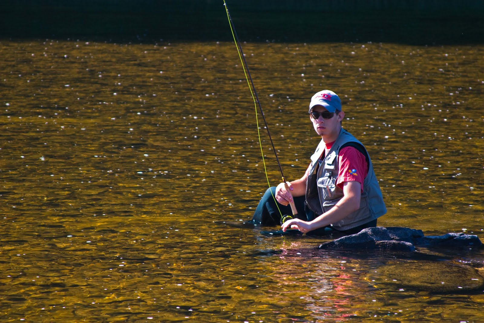 Fly fishing the Tionesta
