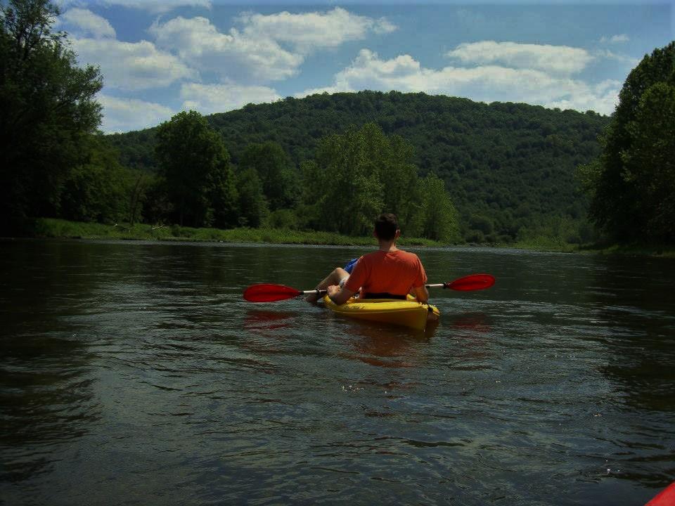 Kayaking the Tionesta Creek