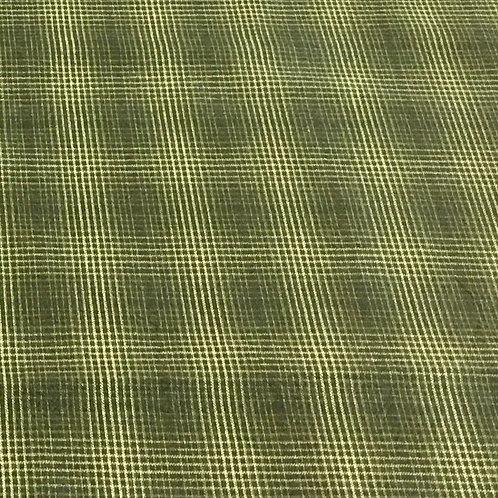 Tela Japonesa cuadriculada en Verde