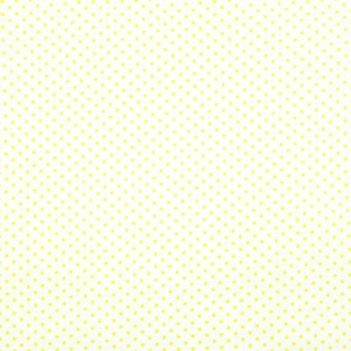 P0210 Fondo Blanco Puntos Amarillos
