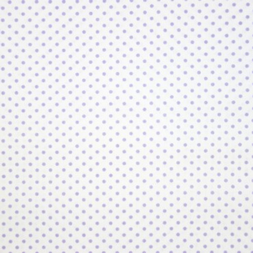 P0202 Fondo Blanco Puntos Lilas