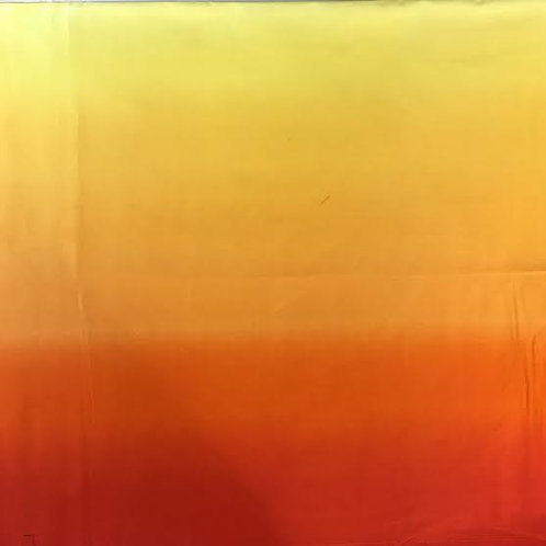 Tela  Naranja Amarillo en Degradé