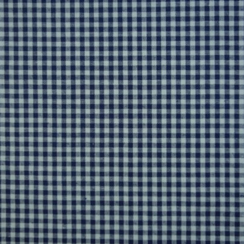 Tela Vichy Azul Marino