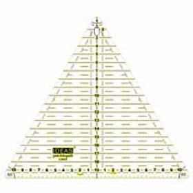 Regla Triangular de 60 º