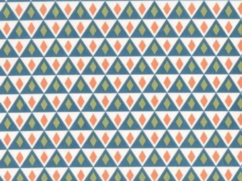 10 €/m Triangulos Azules y Naranjas