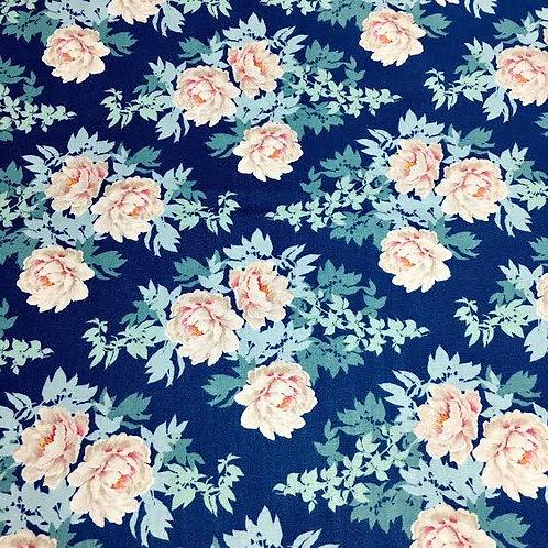 Tilda Fondo Azulón Floral