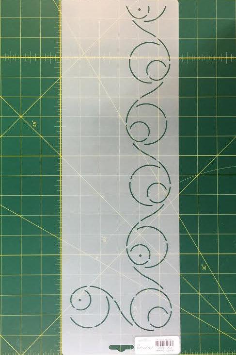 Plantilla de Acolchado Espiral