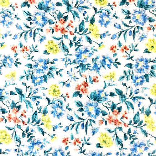 de Fondo Blanco, Flores del Jardín