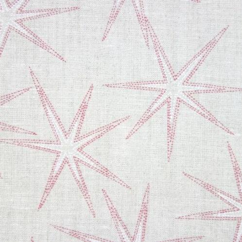 Tela de Lino Beis con Estrellas