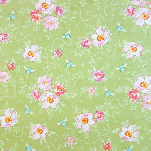 U 0095 Fondo Verde Flores, 18 €/m