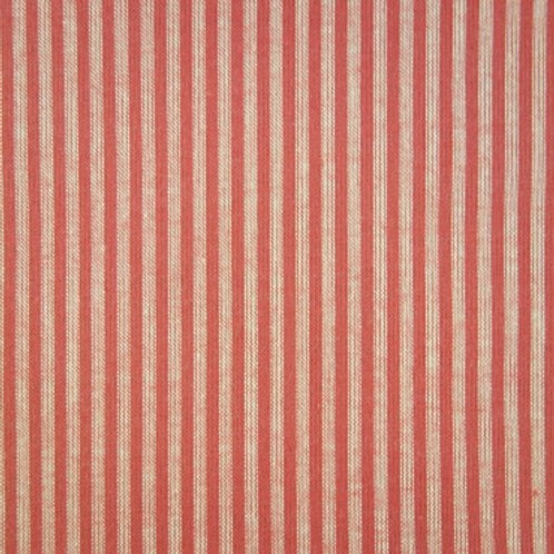 S0012 Country Rojo Rayas Beige
