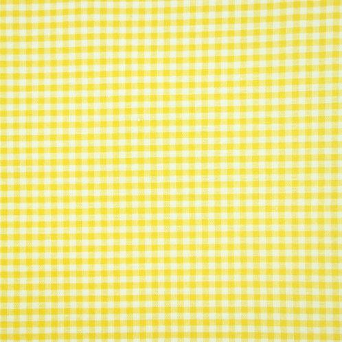 Tela Vichy Amarilla