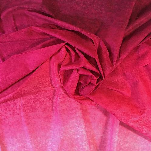 Tela Rosa- Rojo en Degradé