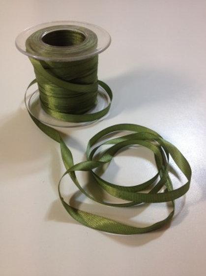 Cinta de Seda Verde Cazador