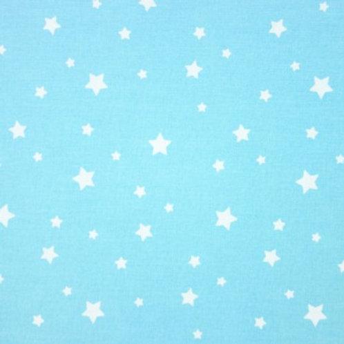 P0305 Fondo Azul Cielo Estrellas  Blancas