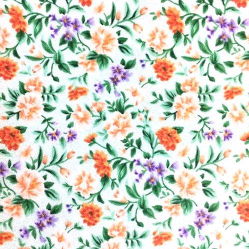 V 0044 Fondo Verde, Florecillas