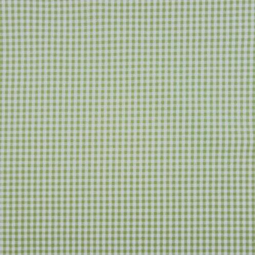 Tela Vichy Verde - Beig