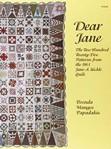Libro Dear Jane 225 Patrones