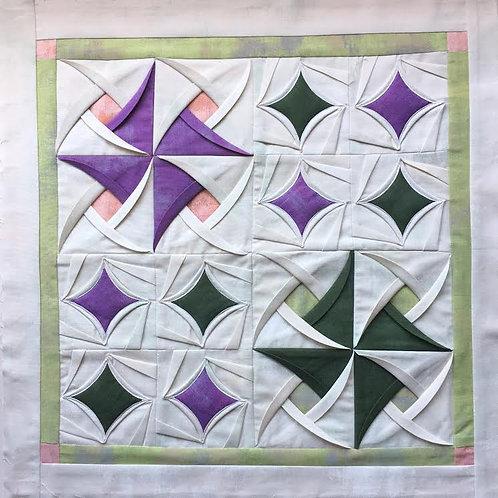 """Kit Cojín """"Técnica Origami"""""""