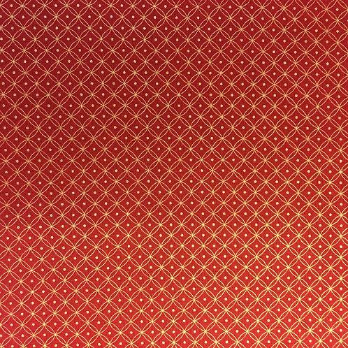 AC 0011 Fondo Rojo Dorado