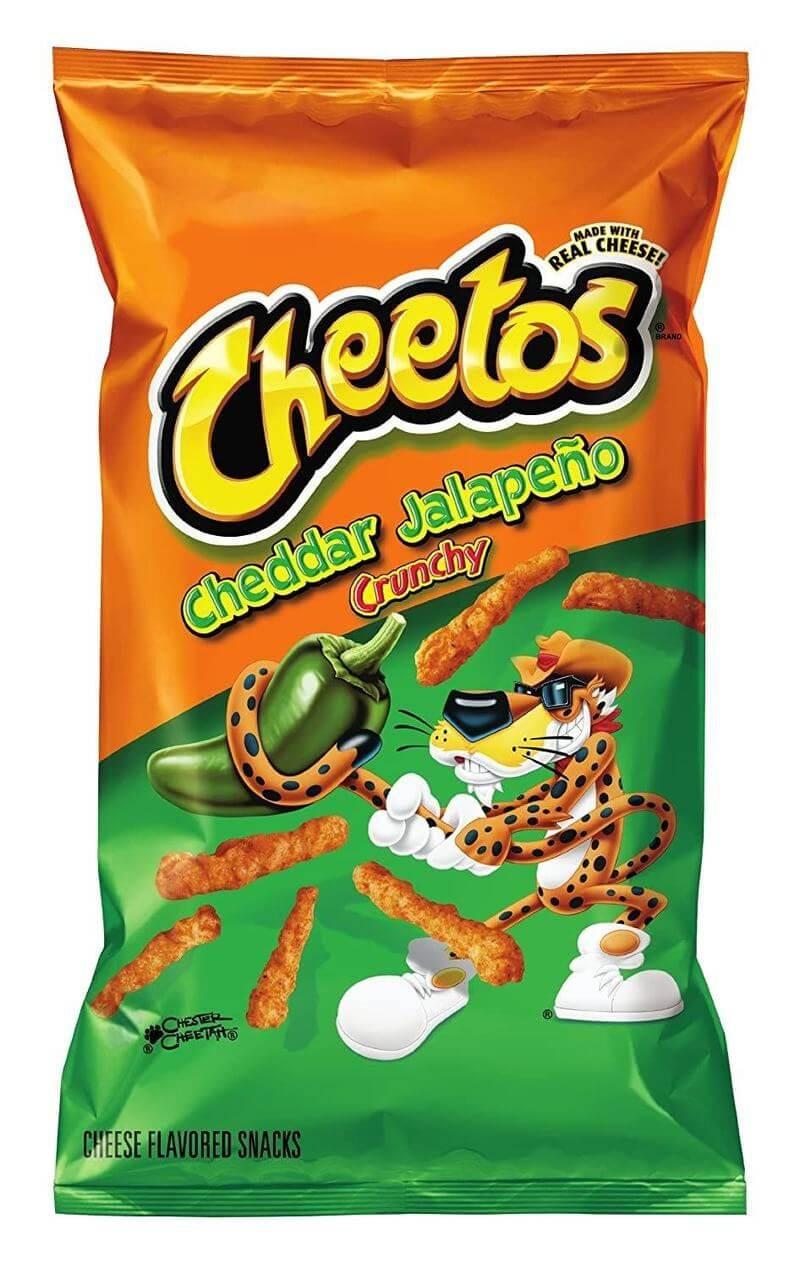 Cheetos Crunchy Jalapeño au fromage