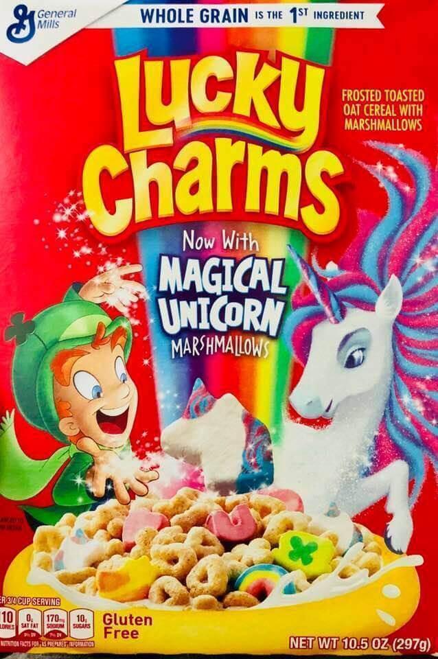 Boîte de Lucky Charms