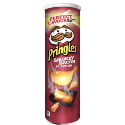 Pringles Bacon Fumé