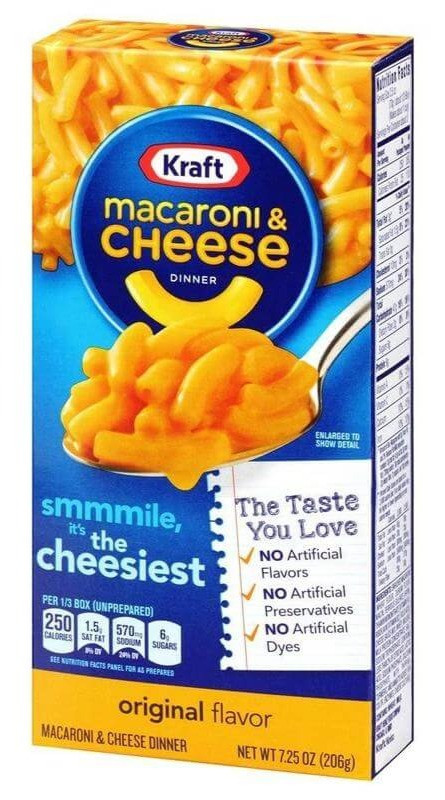 Paquet de Kraft Mac & Cheese