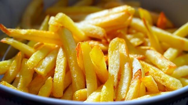 Frites dorées