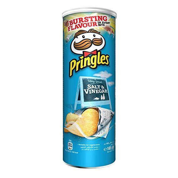 Pringles Sel et Vinaigre