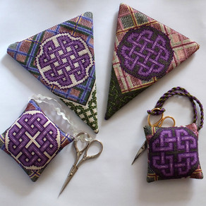 How to: Celtic Knotwork and Tartan Scissor Case and Keeper Assembly