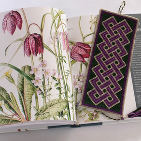 How to: Celtic Knotwork Bookmark Assembly