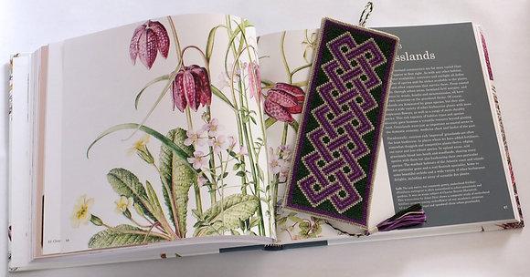 Square Celtic Knotwork Bookmark Cross Stitch Pattern