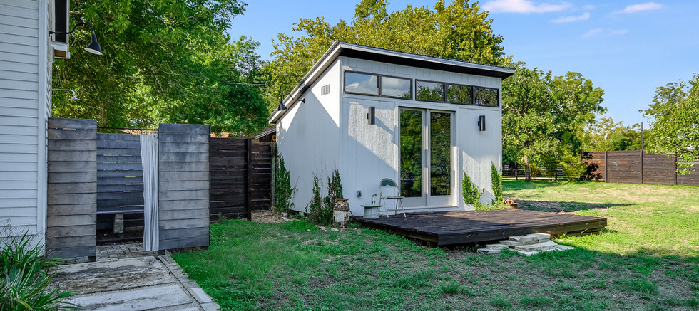 Outdoor Shower & Yard Shed